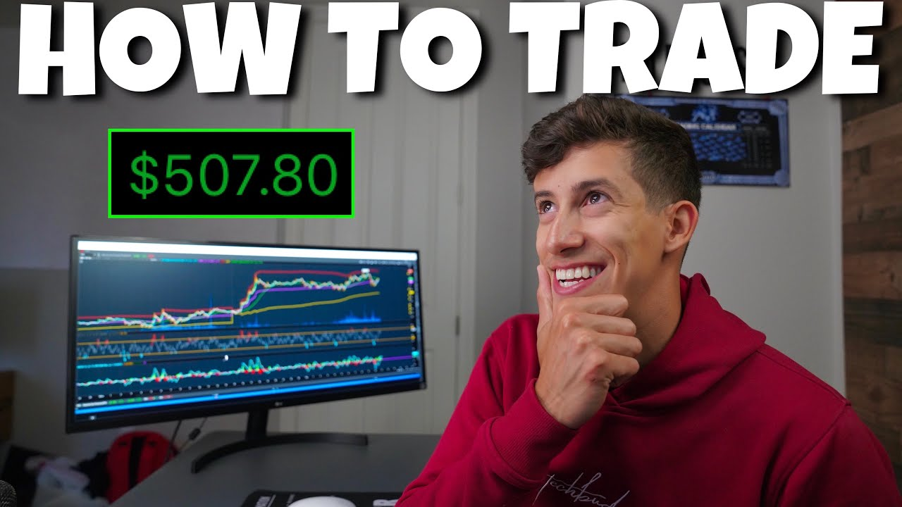 HOW TO DAY TRADE FOR BEGINNERS ($500 PROFIT)