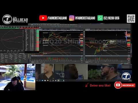 🔵🔴 2MIL PTS NO INDICE E 32PTS NO DÓLAR🔵🔴 DAY TRADE AO VIVO COM FABRÍCIO STAGLIANO 07/07/2020 $