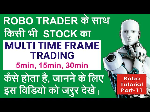 ROBO TRADER TUTORIAL 11 | Multi Time Frame Trading | Learn #withme