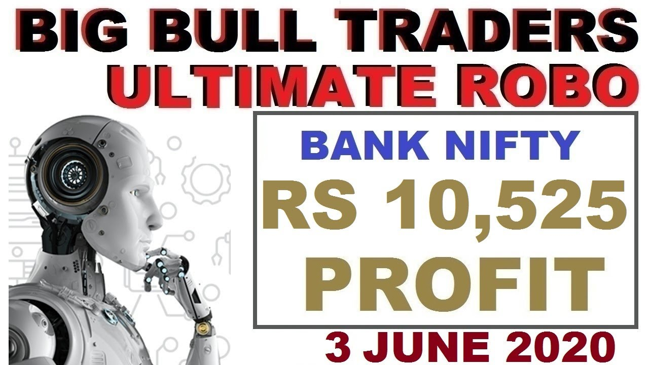 Rs 10525 Profit in Bank Nifty Options | Robo Trade Live