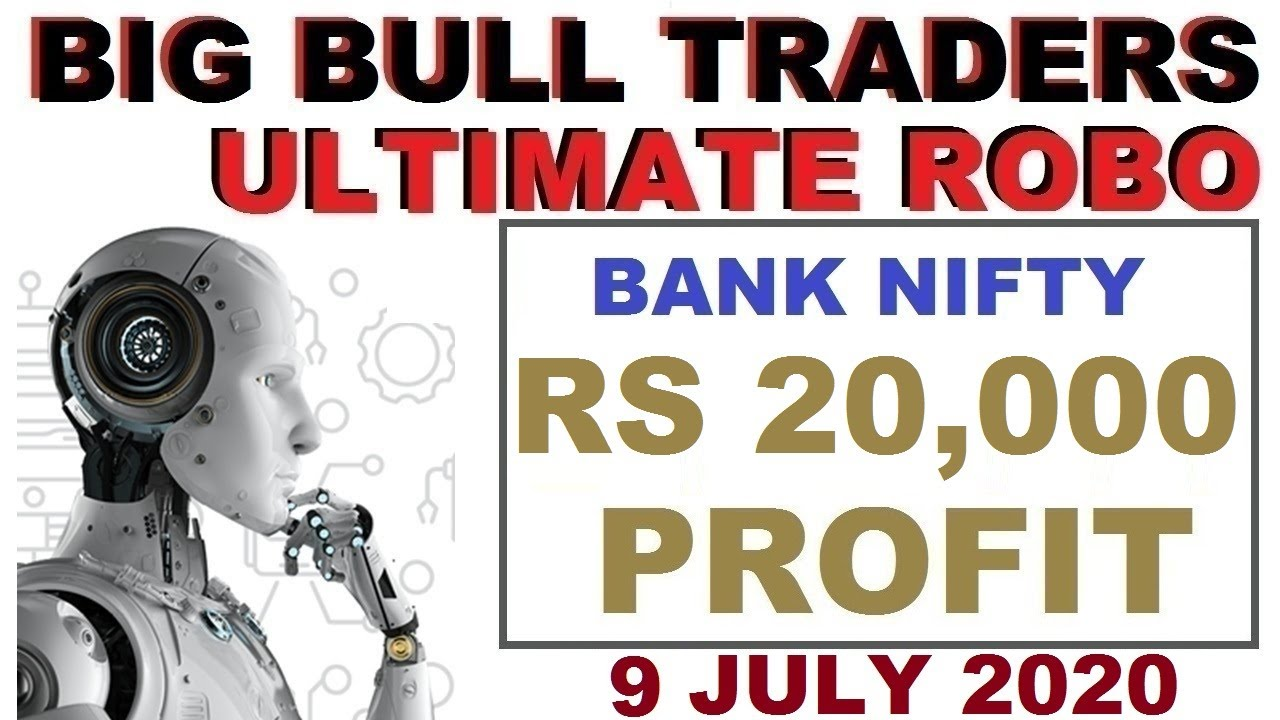 Rs 20,000 Profit in Bank Nifty New Updation in Robo Trade