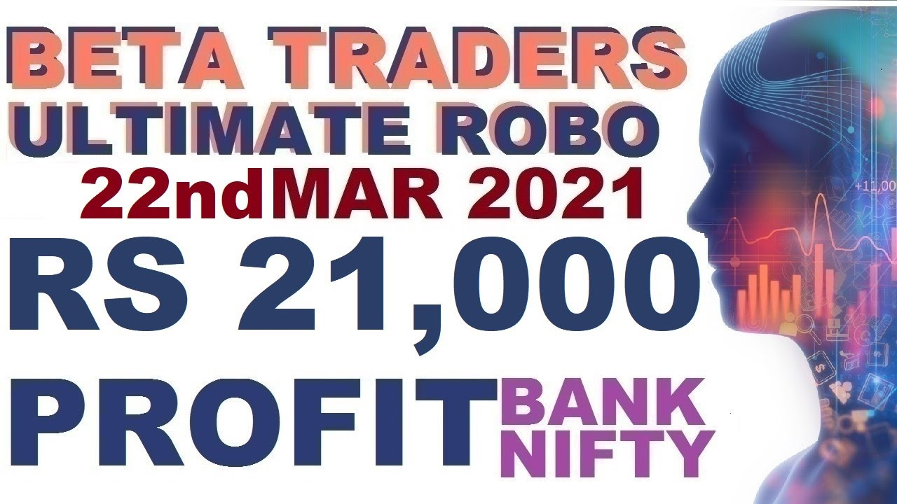 Robo Trade Live | Rs 21,000 Profit in Bank Nifty Options | Share Market in Tamil