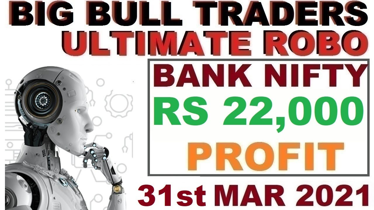 Robo Trade Live Rs 21,000 Profit in Bank Nifty Options