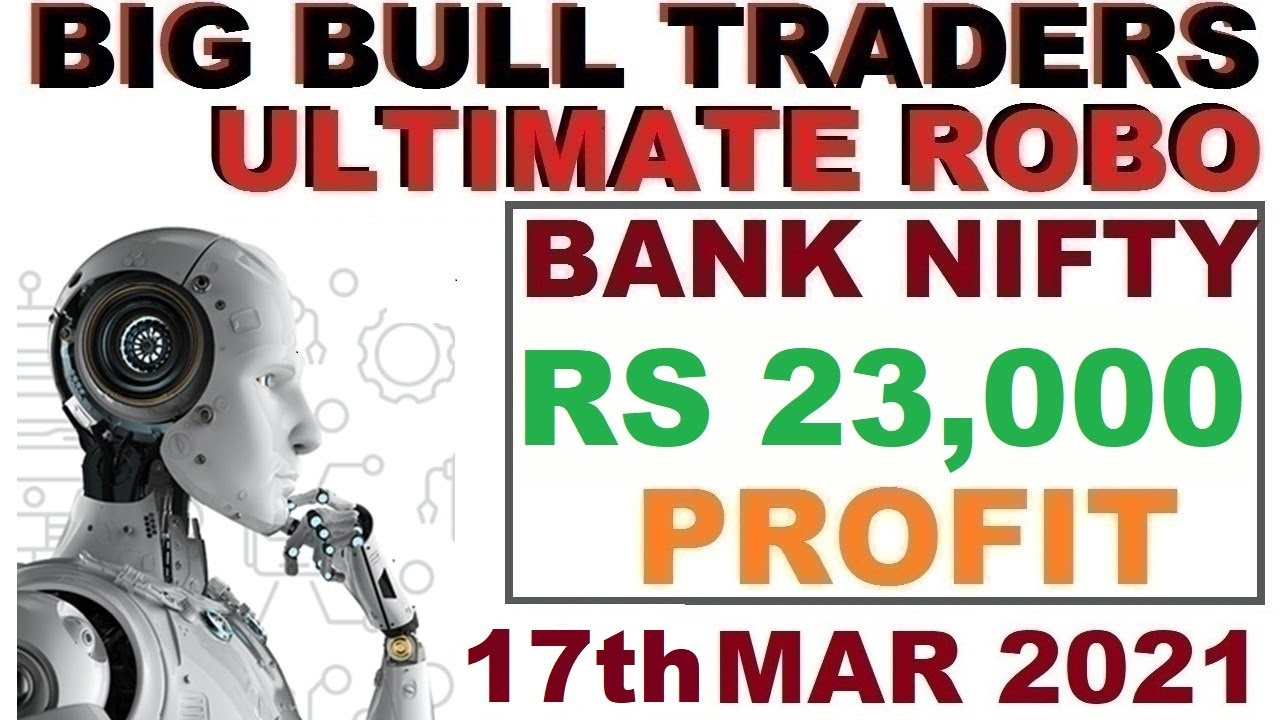 Rs 23,000 Profit in Bank Nifty Options in Robo Trade