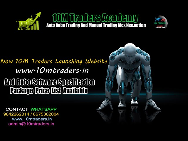 10M Trader Academy Now Launch Website And Robo Subscription packages Price List Details