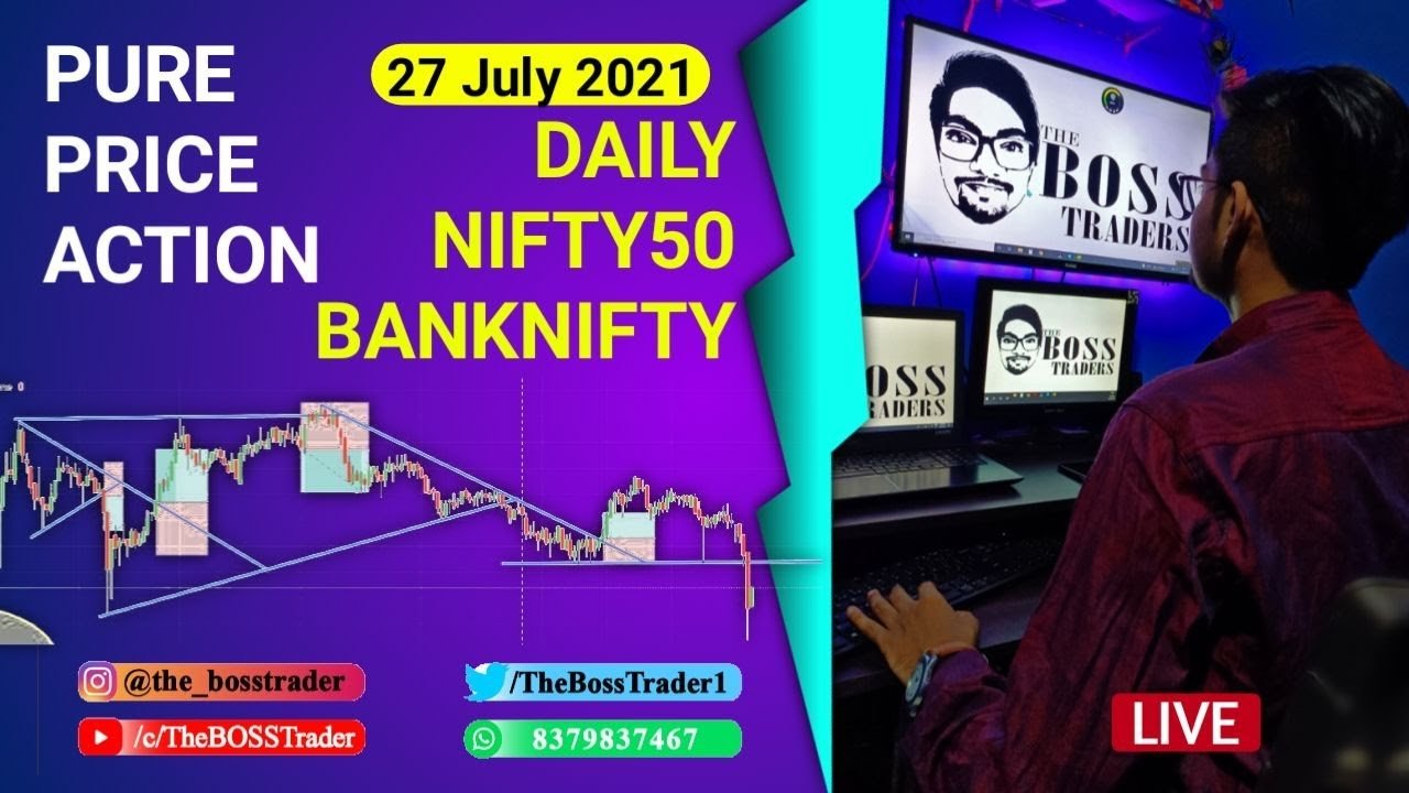 Live Banknifty Analysis | Live daily Analysis | Price Action | 27 July | The BOSS Trader